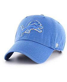 '47 Brand Detroit Lions CLEAN UP Cap