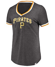 Majestic Women's Pittsburgh Pirates Driven by Results T-Shirt