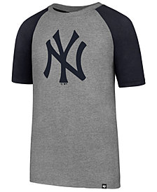 '47 Brand New York Yankees Super Rival Raglan T-Shirt, Big Boys (8-20)