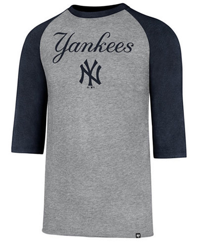 '47 Brand Men's New York Yankees Pregame Raglan T-shirt