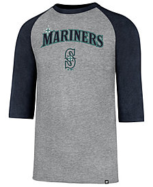 '47 Brand Men's Seattle Mariners Pregame Raglan T-shirt