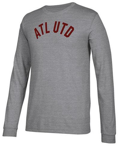 adidas Men's Atlanta United FC Arched Long Sleeve T-Shirt