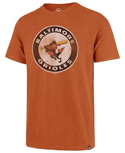 '47 Brand Men's Baltimore Orioles Scrum Logo T-Shirt