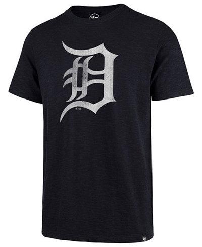 '47 Brand Men's Detroit Tigers Scrum Logo T-Shirt