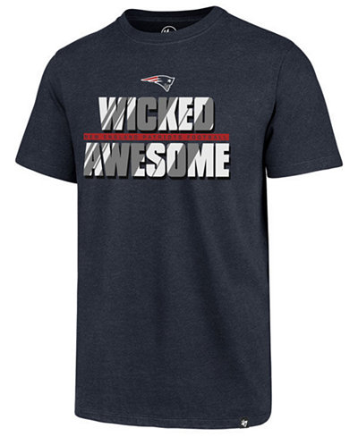 '47 Brand Men's New England Patriots Wicked Awesome Club T-Shirt