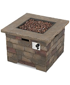 Merola Gas Fire Pit, Quick Ship