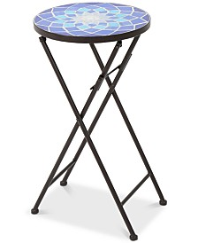 Chloe Round Side Table, Quick Ship