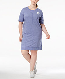Nike Plus Size Sportswear Gym Vintage Dress