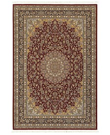 "Paragon Medallion Red 9'10"" x 12'10"" Area Rug"