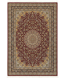 "Oriental Weavers Masterpiece Medallion Red 5'3"" x 7'6"" Area Rug"