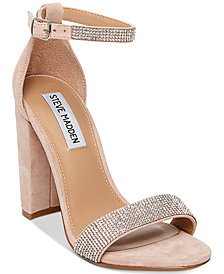 Steve Madden Women's Carrson Embellished Dress Sandals