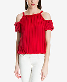 Max Studio London Cold-Shoulder Top, Created for Macy's