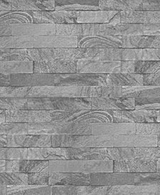 Graham & Brown New Brick Gray Wallpaper