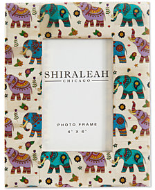 "Shiraleah The Wanderer Elephant 4"" x 6"" Picture Frame"