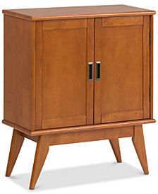 Ednie Low Storage Cabinet, Quick Ship
