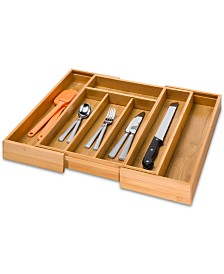 Honey Can Do Expandable Cutlery Tray