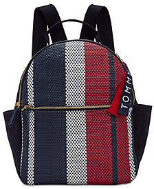 Tommy Hilfiger Classic Tommy Woven Dome Medium Backpack