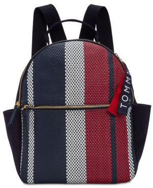 CLASSIC TOMMY WOVEN DOME MEDIUM BACKPACK
