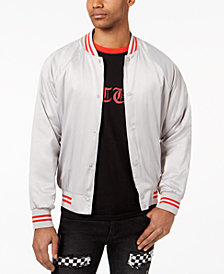 Jaywalker Men's Raglan Varsity Jacket