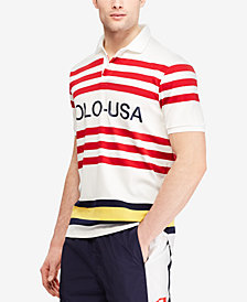Polo Ralph Lauren Men's CP-93 Classic-Fit Striped Polo