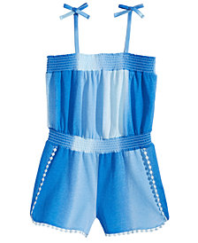 Epic Threads Little Girls Ombré Romper, Created for Macy's