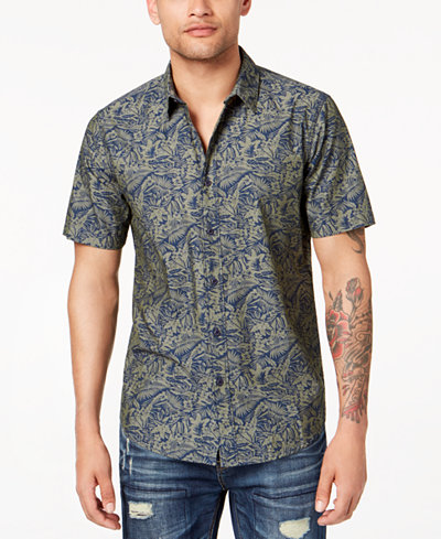 American Rag Men's Fern Jungle Shirt, Created for Macy's