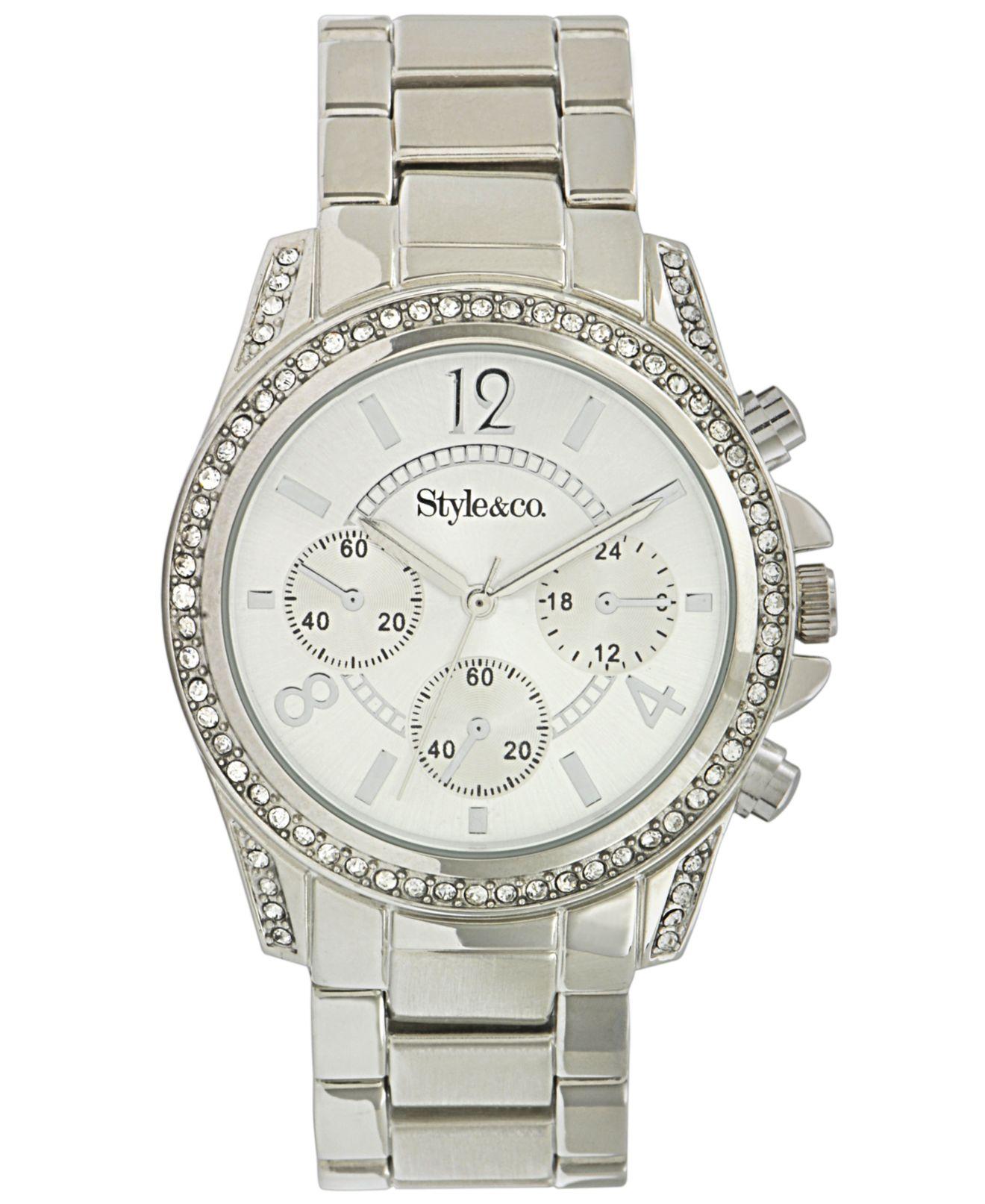 Womens Watches Silver Tone Watch Women's Silver-tone