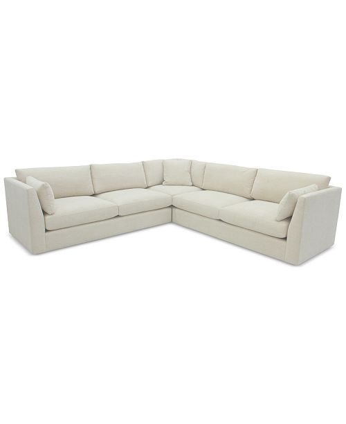 Macys Sectional Sofas Furniture Nevio 5 Pc Fabric