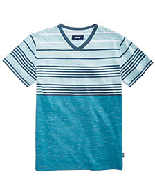 Univibe Big Boys Wharf Striped T-Shirt