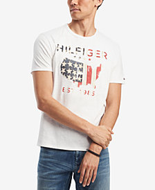 Tommy Hilfiger Men's Stars & Stripes Graphic-Print T-Shirt, Created for Macy's