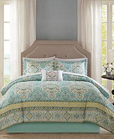 Madison Park Essentials Cara 9-Pc. Full Comforter Set