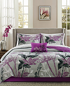 Madison Park Essentials Claremont 8-Pc. Queen Coverlet Set