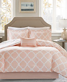 Merritt Reversible 9-Pc. Queen Comforter Set