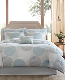 Knowles 9-Pc. Queen Comforter Set
