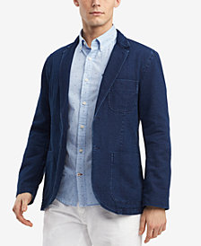 Tommy Hilfiger Men's Austin Indigo Blazer, Created for Macy's