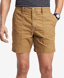 "Tommy Hilfiger Men's Classic Fit Fatigue 9"" Shorts, Created for Macy's"