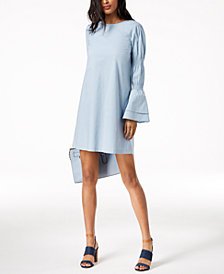 MICHAEL Michael Kors Tiered-Sleeve Dress