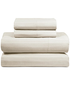 DKNY PURE Comfy Cotton 200-Thread Count 4-Pc. King Sheet Set
