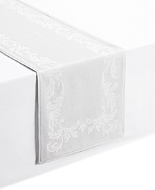 "Celeste White 14"" x 90"" Table Runner"