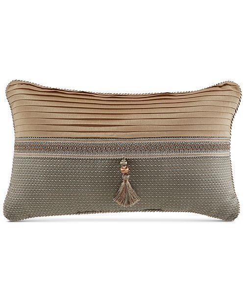 "Croscill Rea Boudoir 20"" x 12"" Decorative Pillow"