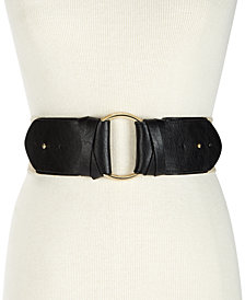 I.N.C. O-Ring Stretch Belt, Created for Macy's