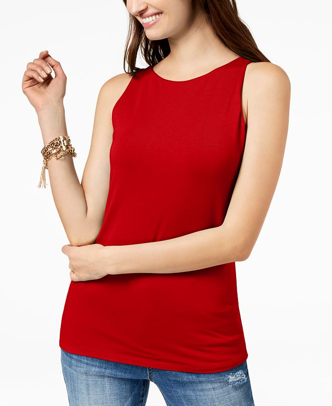 INC International Concepts INC Boat-Neck Tank Top, Created for Macy's