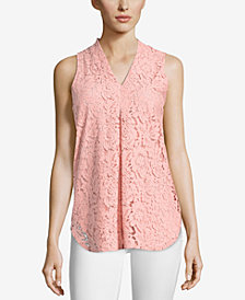 ECI Lace V-Neck Top