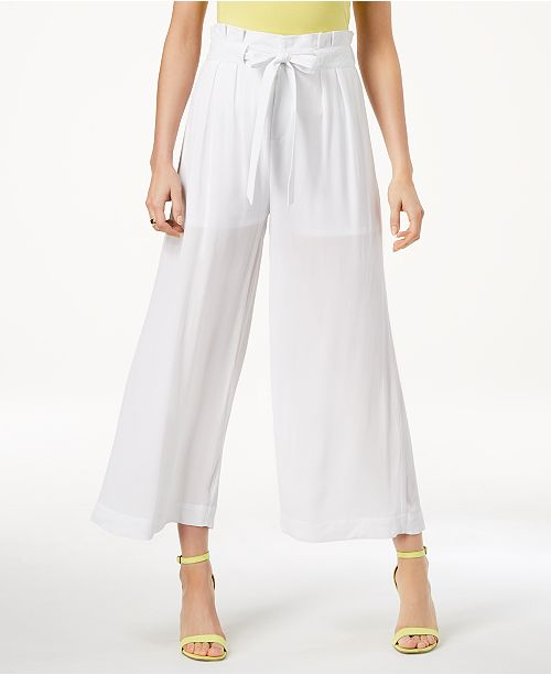 XOXO Juniors' Cropped Wide-Leg Soft Pants