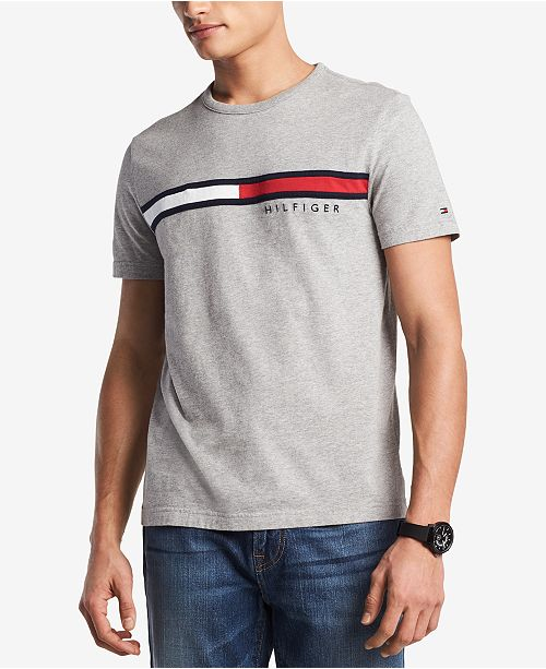 ca01c8d7816 Tommy Hilfiger Men s Big   Tall Embroidered Logo T-Shirt