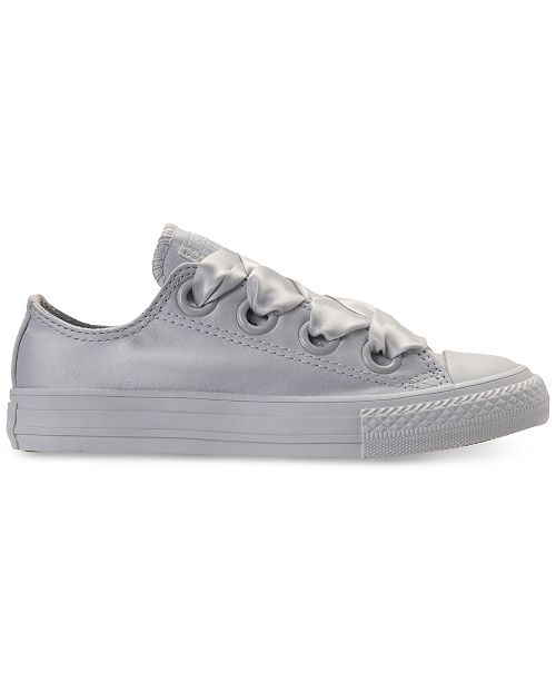 fc2660f37cc7 ... Converse Big Girls  Chuck Taylor All Star Big Eyelets Ox Casual  Sneakers from Finish ...