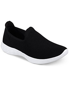 Skechers Women's 4 YOU Define Wide Casual Walking Sneakers from Finish Line from Finish Line