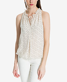 Max Studio London Ruffled-Neck Top, Created for Macy's