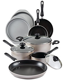 Farberware 17-Pc. Non-Stick Cookware Set