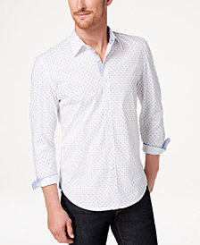 Con.Struct Men's Printed Slim-Fit Shirt, Created for Macy's